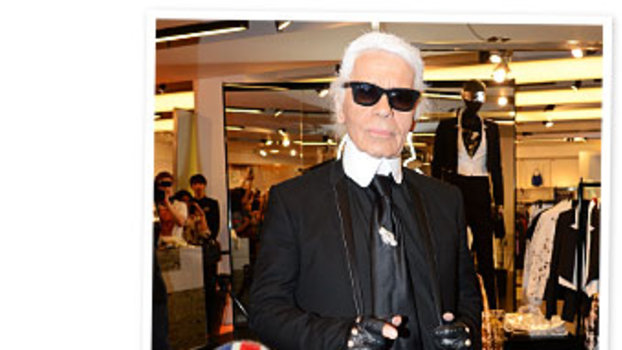 Karl Lagerfeld, Repetto