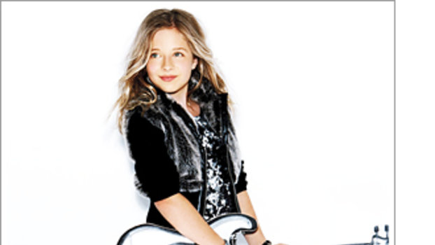 guess kids campaign stars jackie evancho instyle com
