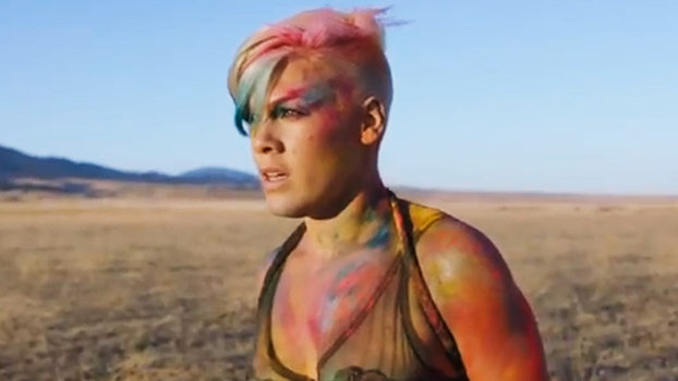 """P Nk Hairstyles: Pink Dances Like Crazy In Her New Video For """"Try:"""" Watch"""