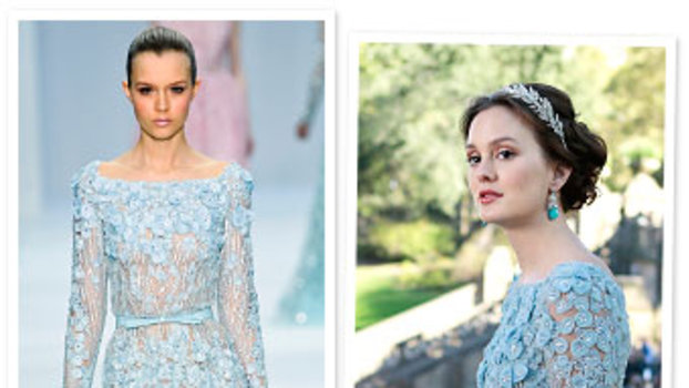 Gossip Girl Blair Waldorf S Wedding Dress By Elie Saab Instyle Com