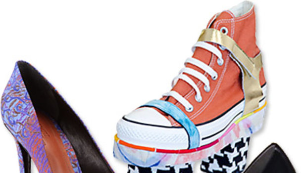 First Look: New Shoe Collaborations for Fashion Week!