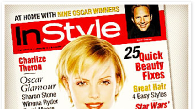 InStyle Charlize Theron