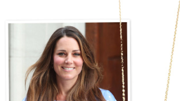 Kate Middleton personalized jewelry