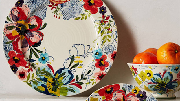 Flower Power: Floral Home Accessories