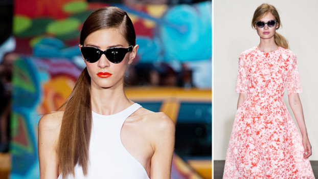 Runway-Inspired Sunglasses Trend To Try: Cat Eye