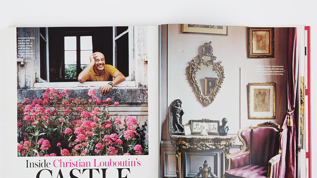 Go Inside the Fabulous Homes of Designers Christian Louboutin, Tracy Reese, Valentino, and More