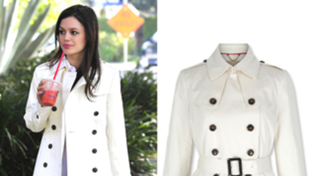 Lighten Up for Spring With This Dreamy White Coat ...