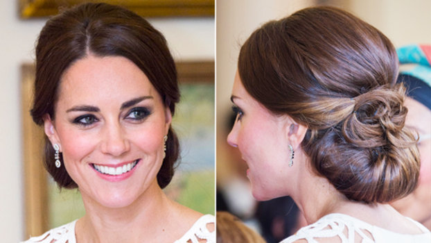 Kate Middleton Wears a Wedding-Worthy Updo For Her Final ...