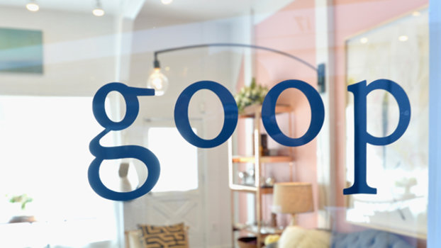 Go Inside Gwyneth Paltrow's Goop Pop-Up Shop