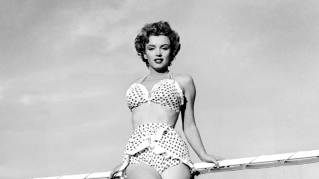 Marilyn Monroes Most Iconic Swimsuits Instyle