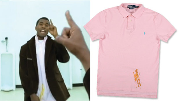 Want a Mustard,Stained Polo Shirt? You Can Buy a Replica of