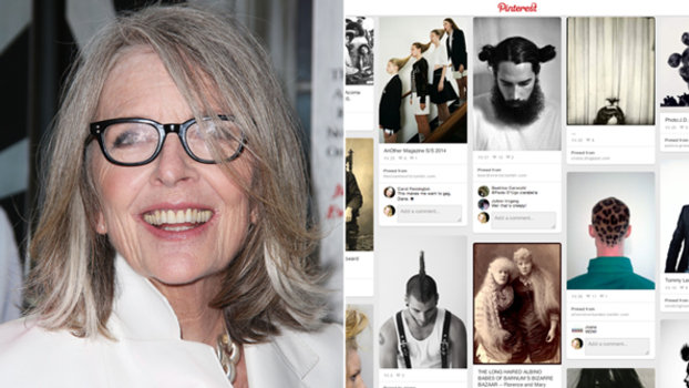 Diane Keaton Is Our New Pinterest Hair Muse | InStyle.com
