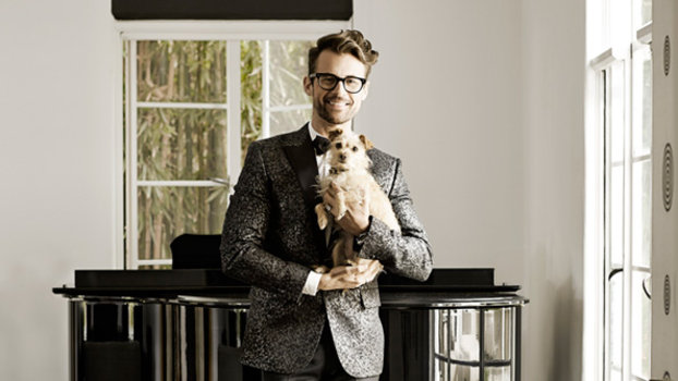 Brad Goreski in his LA home