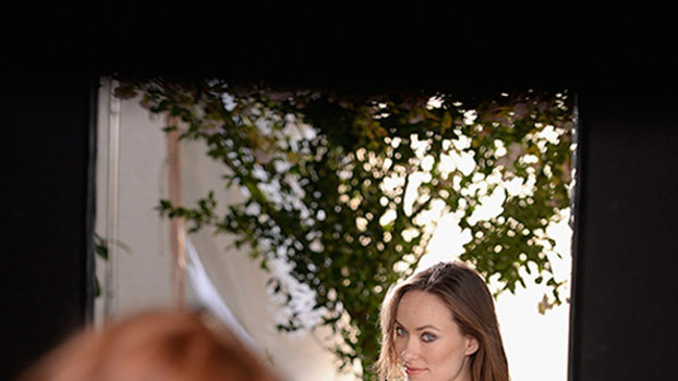 See Exclusive Behind-the-Scenes Photos of Olivia Wilde's New Avon Fragrance Campaign