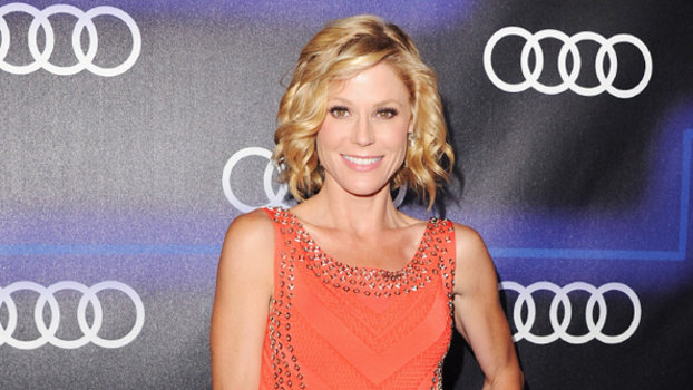 Julie Bowen Wears Sexy Herve Leger Dress To Emmys Party