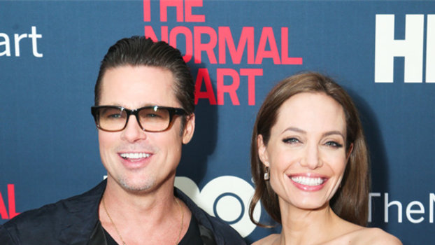 Brad Pitt And Angelina Jolie Got Married This Weekend