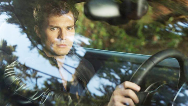 Jamie Dornan in Fifty Shades of Grey teaser trailer.
