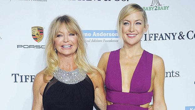 Goldie Hawn and Kate Hudson at Baby2Baby Gala