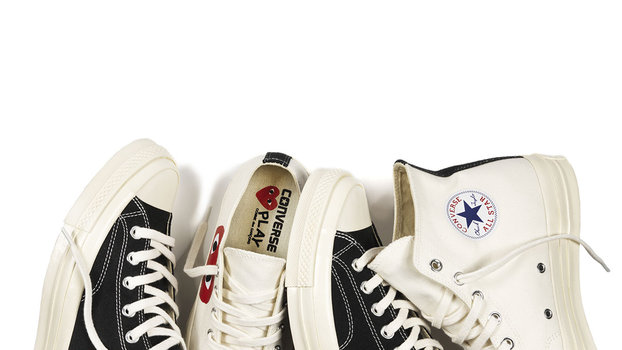 4e408363d59630 Converse Debuts Fourth Collection with PLAY Comme des Garcons ...