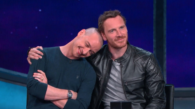 All The Details On James Mcavoy And Michael Fassbender S X
