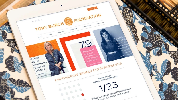 700b7a443d6 Tory Burch Launches a Website for Female Entrepreneurs