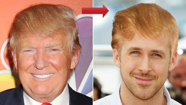 Try On Donald Trump's Hair With Our Hollywood Makeover ...