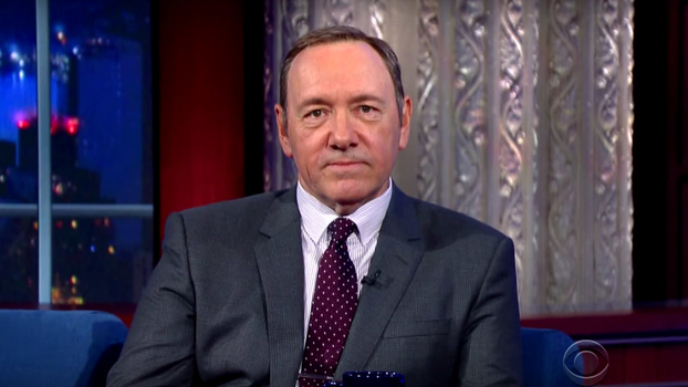 Kevin Spacey on Late Show