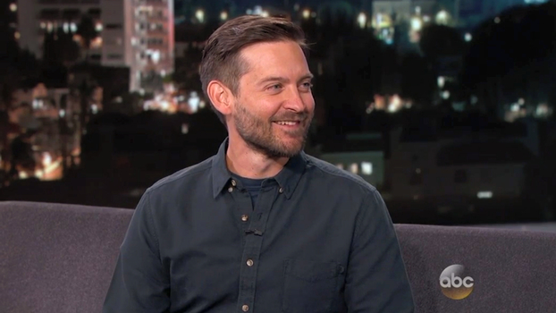 Tobey Maguire on Jimmy Kimmel