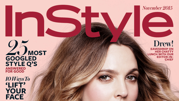See All 8 of Drew Barrymore's <em>InStyle</em> Covers, from Her First in 1999 to Now