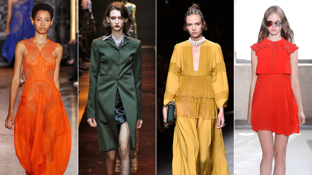 The Top 6 Colors Of Spring 2016