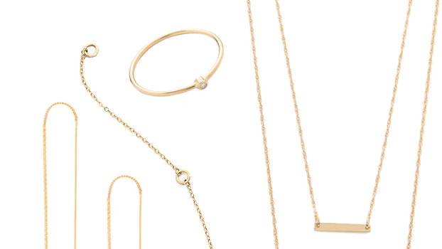 Delicate Gold Jewelry to Wear with Everyday Outfits InStylecom