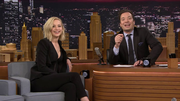 Jennifer Lawrence - Jimmy Fallon - LEAD