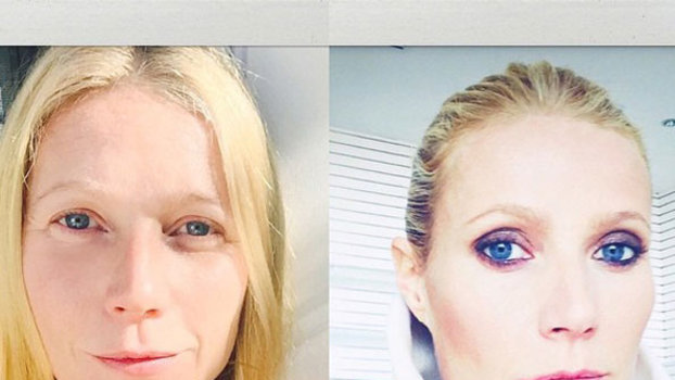 Gwyneth Paltrow joins the #nomakeup movement   Beauty ...