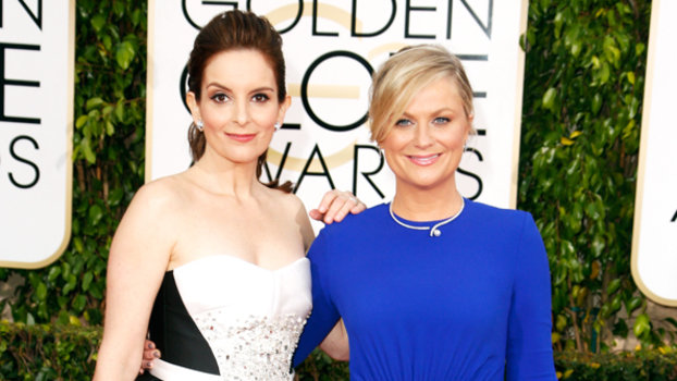 All Of Tina Fey And Amy Poehlers Golden Globes Outfits InStylecom