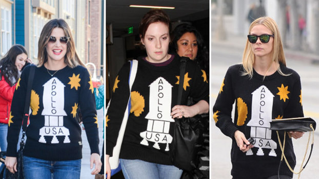 Cobie Smulders, Lena Dunham, and Jaime King in Coach