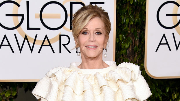 Jane Fonda's Red Carpet Style