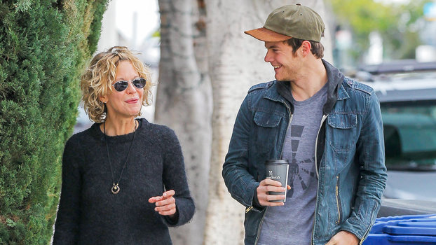 Meg Ryan Steps Out With Her Son Jack Quaid Instyle Com