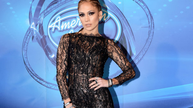 J Lo Hair Styles: J. Lo Stuns In A Sheer Dress With Cornrows On American