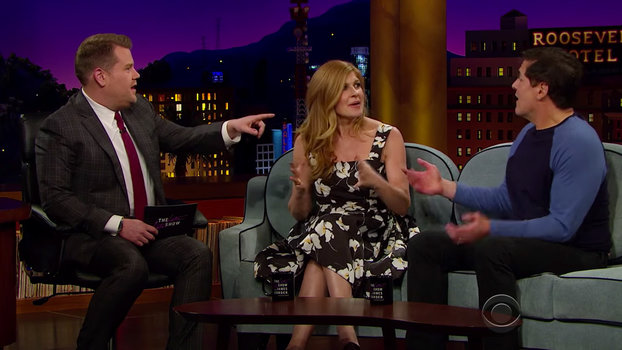 Connie Britton - Corden