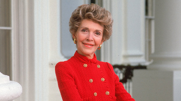 Nancy Reagan Wore The Red InStylecom