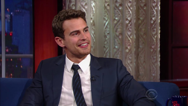 Theo James - Stephen Colbert