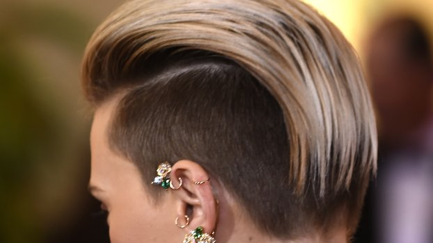Undercut Hairstyle With Designs