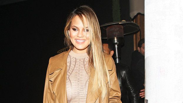 Chrissy Teigen Looks Smoking Hot On First Date Night Out