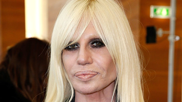 It S Donatella Versace S 61st Birthday Instyle Com