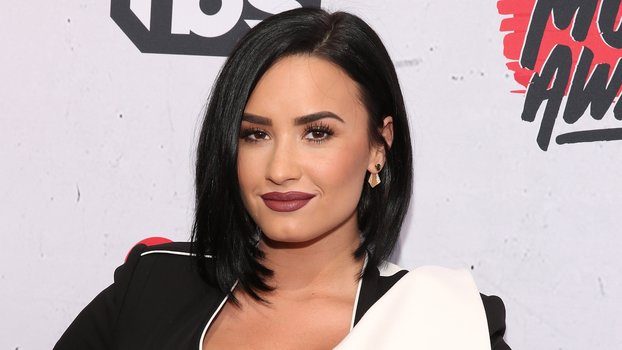 Demi Lovato Post Workoout Treatment