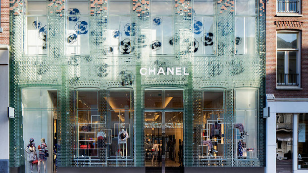 What Is Chanel Amsterdam's Storefront Made Of?