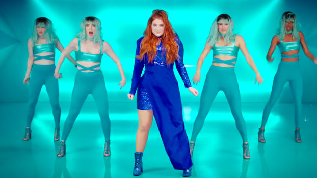 Watch Meghan Trainors Updated Me Too Music Video InStylecom
