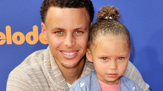 Riley Curry Steals The Show At Stephen Currys MVP Press