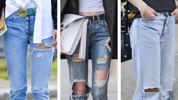 3861dc69a53 How to Distress Your Jeans in 7 Easy Steps | InStyle.com