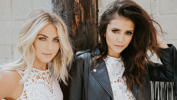 Watch Julianne Hough and Nina Dobrev Goof Off for a Good Cause